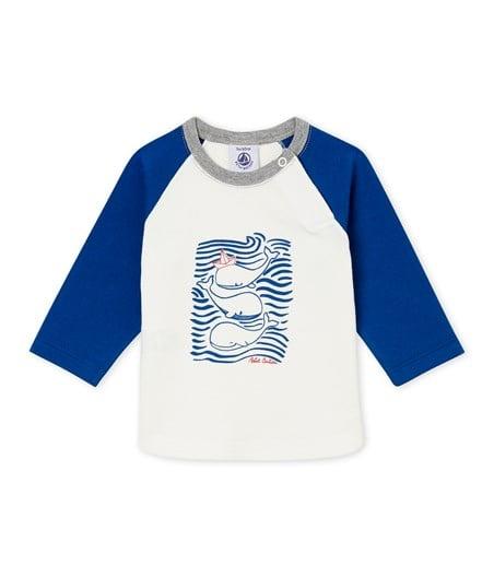 Petit Bateau FW18 T-Shirt Baleine ML / Petit Bateau