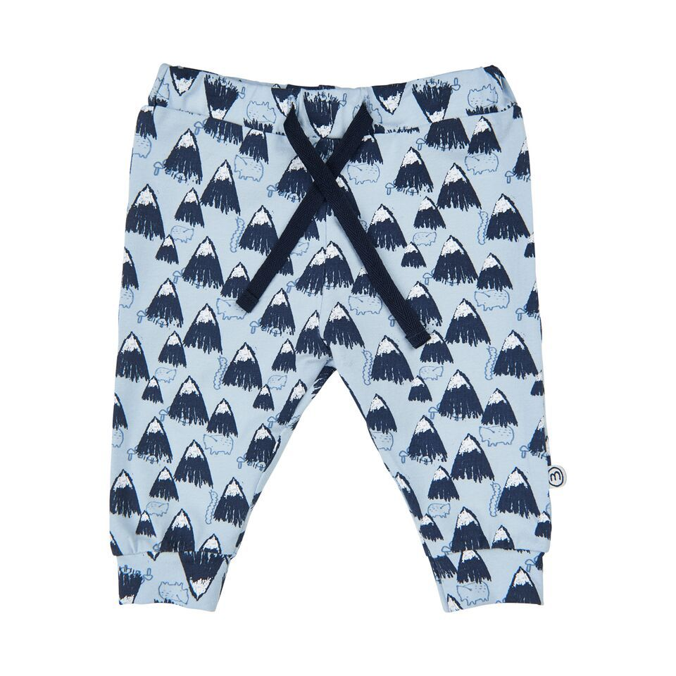 Minymo FW18 Pantalons Montagnes Bleu - Minymo