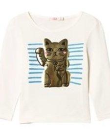 FW18 Chandail Chat Chanceux Billieblush - Lucky Cat Shirt