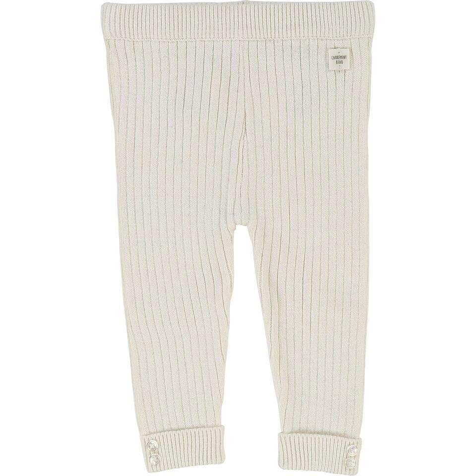 Carrément Beau FW18 Pantalons Épais Blanc - Carrément Beau