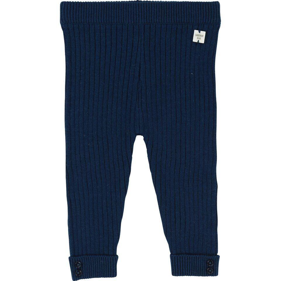 Carrément Beau FW18 Pantalons Épais Bleu - Carrément Beau