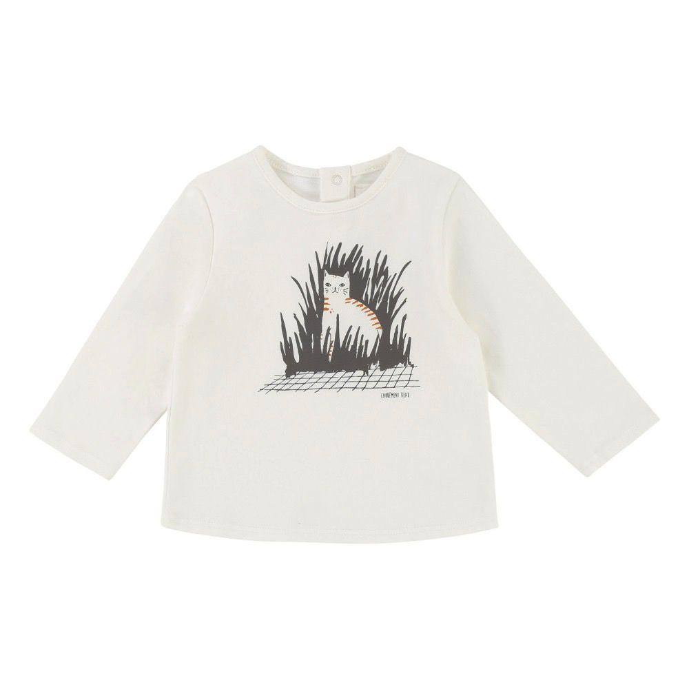 Carrément Beau FW18 CHandail Chat Caché de Carrément Beau/ Shirt