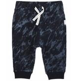 Miles Baby FW18 Pantalon Tricot Bleu Cordon Blanc - Miles Baby