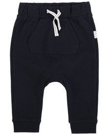 FW18 Pantalon Tricot Bleu Marin - Miles Baby