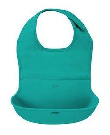 Bavette Roll Up Oxo Tot/ Bib-Turquoise
