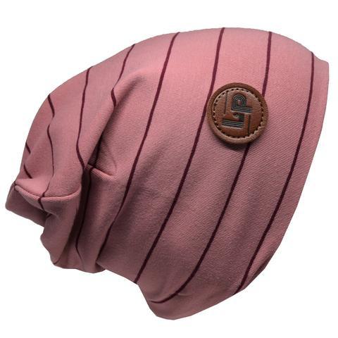 L&P Tuque Coton Ultra Stylée Rose à Rayures - L&P