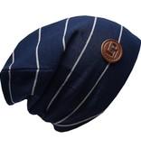 L&P SS18 Tuque de Coton Rayée Boston Ultra Stylée de L&P/Ultra Trendy Cotton Beanie