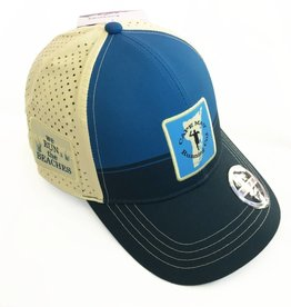 Boco Gear Running Trucker - Blue/Tan