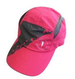 Boco Gear Tri Hat: Women's Pink with Grey