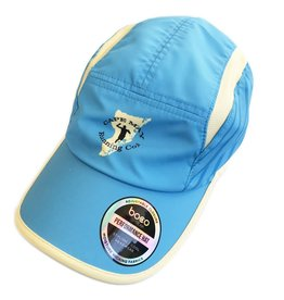 Boco Gear Tri Hat - Blue/Tan w/Stripped side panels