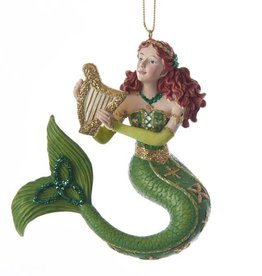 ORNAMENTS IRELAND CELTIC MERMAID ORNAMENT