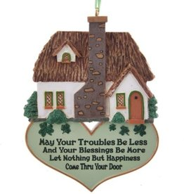ORNAMENTS IRISH HOME BLESSING ORNAMENT