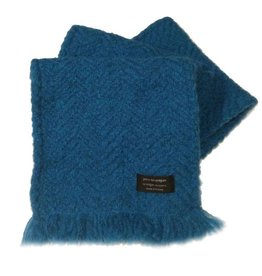 ACCESSORIES BRANIGAN WEAVERS SCARF - TRUE BLUE
