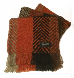 ACCESSORIES BRANIGAN WEAVERS SCARF - MULTI RUST