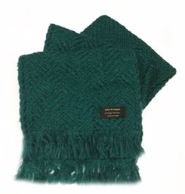 ACCESSORIES BRANIGAN WEAVERS SCARF - PINE GREEN