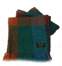 ACCESSORIES BRANIGAN WEAVERS SCARF - MULTI TRUE BLUE