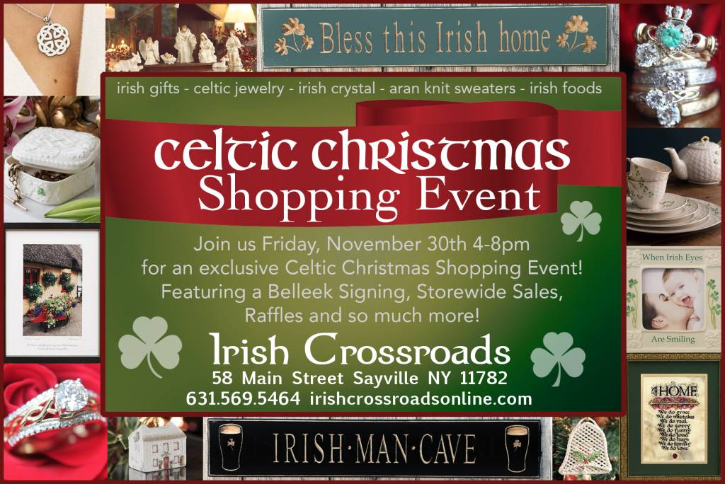 Celtic Christmas Shopping Event