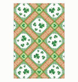 KITCHEN & ACCESSORIES TEA TOWEL - Shamrock Diamonds
