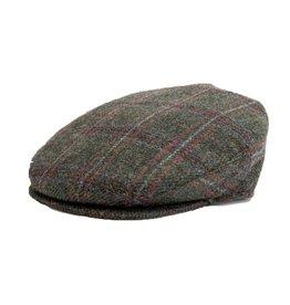 CAPS & HATS VINTAGE CHECK CAP- GREEN