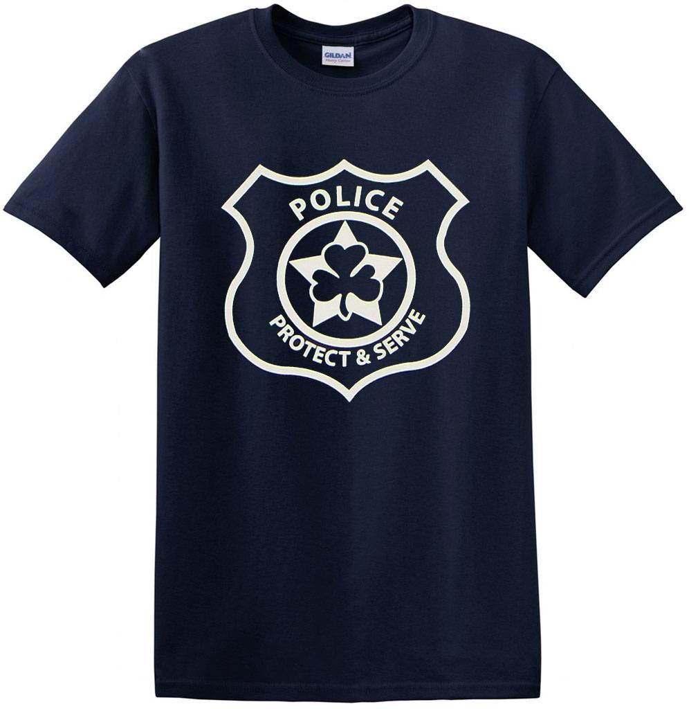 SHIRTS SHAMROCK POLICE SHIRT