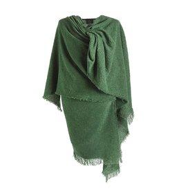 CAPES & RUANAS CELTIC RUANA - Emerald Green