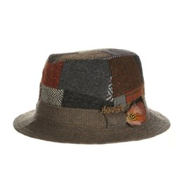CAPS & HATS WALKING PATCHWORK TWEED HAT