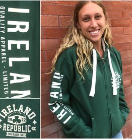 SWEATSHIRTS IRELAND REPUBLIC ZIP HOODIE