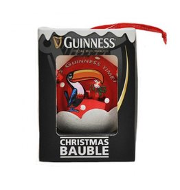 ORNAMENTS GUINNESS TOUCAN BAUBLE ORNAMENT