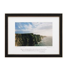 PLAQUES & GIFTS CLIFFS OF MOHER PRINT 9X12