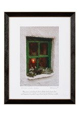 PLAQUES & GIFTS CHRISTMAS WINDOW PRINT 9X12