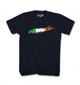 SHIRTS CARLETON LI IRISH T-SHIRT - NAVY HEATHER