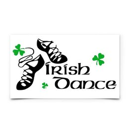 KEYCHAINS/CAR/ETC IRISH DANCE DECAL