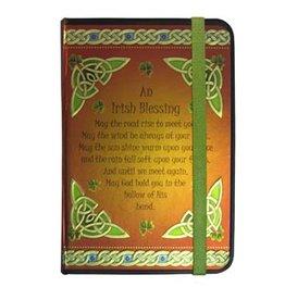 NOVELTY CELTIC NOTEBOOK - IRISH BLESSING