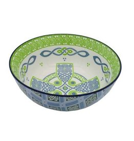"VASES & BOWLS CELTIC CROSS 5.5"" CLARA BOWL"