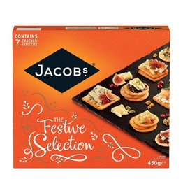 FOODS JACOBS CHRISTMAS CRACKERS (450G)