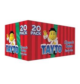 MISC FOODS TAYTOS CHRISTMAS Box - Cheese & Onion (20pk)