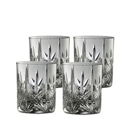 BARWARE GALWAY CRYSTAL ABBEY D.O.F GLASSES (4)