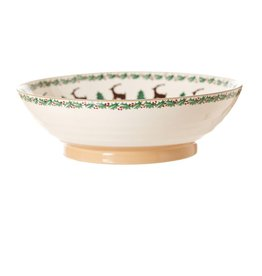 HOLIDAY NICHOLAS MOSSE FRUIT BOWL - REINDEER