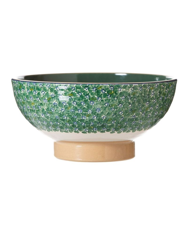 KITCHEN & ACCESSORIES NICHLAS MOSSE LARGE SALAD BOWL - GREEN LAWN