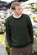 SWEATERS LODEN CREW NECK IRISH SWEATER