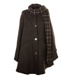 CAPES & RUANAS BRANIGAN WEAVERS TINA CAPE - Oak
