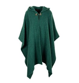 CAPES & RUANAS BRANIGAN WEAVERS SARA CAPE - Pine Green