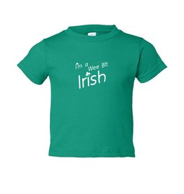 "BABY CLOTHES ""I'M A WEE BIT IRISH"" BABY/TODDLER SHIRT"