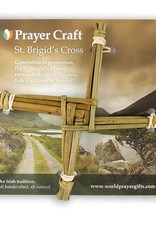 "RELIGIOUS REED ORIGINAL CARDED ST. BRIGID CROSS - 6"""