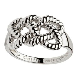 RINGS SHANORE STERLING FISHERMAN KNOT RING
