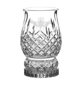 GIFTWARE GALWAY CRYSTAL CLADDAGH HURRICANE LAMP