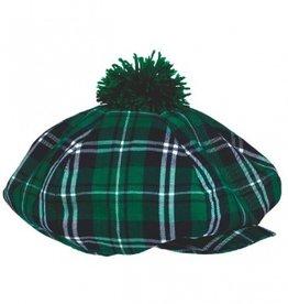 ST PATRICK'S DAY NOVELTY PLAID GATSBY HAT