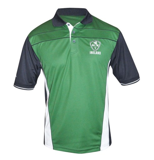 Croker Traditional Rugby Jersey Mens Irish Ireland Green Embroidered Shirt NEW
