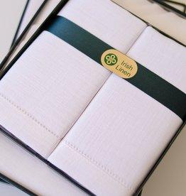ACCESSORIES IRISH LINEN HANDKERCHIEFS - 2PK