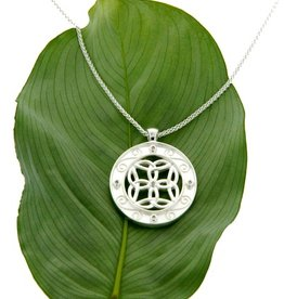 PENDANTS & NECKLACES CLEARANCE - KEITH JACK STERLING & DIAMOND TRINITY PENDANT - FINAL SALE